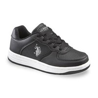 Boy's Tribute Casual Shoe - Black/White