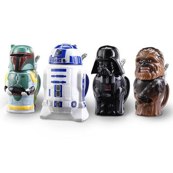 The Star Wars Steins - Hammacher Schlemmer