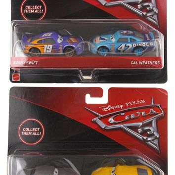 Mattel Disney Pixar Cars 3 Bobby Swift Cal Weathers Sterling Cruz Ramirez Toy