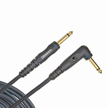 Planet Waves Custom Series Instrument Cable,  Right Angle, 10 feet