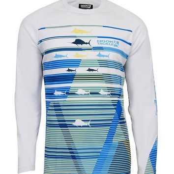 Men's Billfish Matrix L/S UV Fishing Shirt