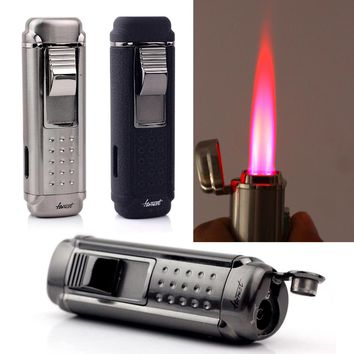 Butane Windproof Torch Jet Flame - Punch Cigar Gas Lighters