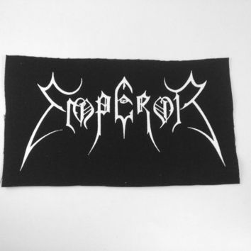 Emperor Band Patch Black Metal Death Metal Thrash Metal Grindcore Hardcore Bands Patches