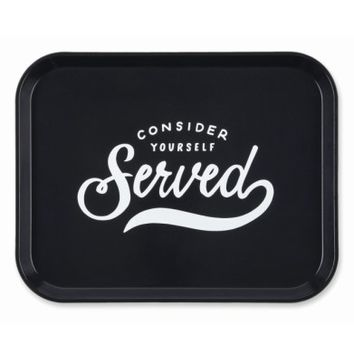 Easy, Tiger Consider Yourself Served Tray | Nordstrom