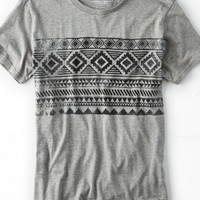 AEO Men's Geo Patterned T-shirt