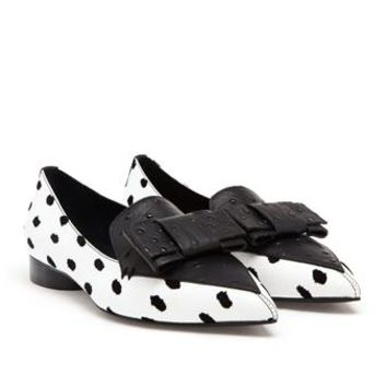 ERDEM | Pointed Loafers with Bow Detail | Browns fashion & designer clothes & clothing
