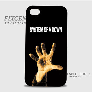 System of A Down 3D Image Cases for iPhone 4/4S, iPhone 5/5S, iPhone 5C, iPhone 6, iPhone 6 Plus, iPod 4, iPod 5, Samsung Galaxy (S3, S4, S5, S6) by FixCenters