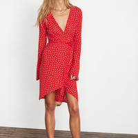 ROSARIA PRINT - RED - GOLDSTEIN DRESS