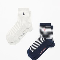 Pulborough 2 Pack Socks