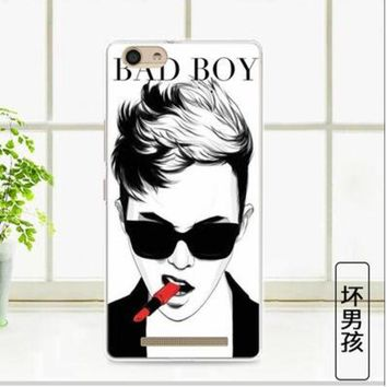 DKF4S For Highscreen Power Ice Max 5.3inch Free shipping protective TPU Soft Silicone painted mobile phone Case Cover