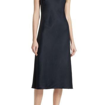 FRAME Stretch Satin Tank Dress | Nordstrom