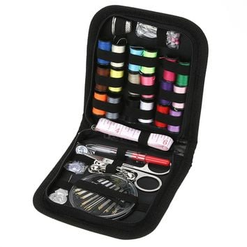 70Pcs/set Multifunction Sewing Box Kit for Travelling Quilting Stitching Embroidery Craft Household Sewing Kits Mom Gifts