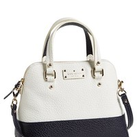 kate spade new york 'small grove court maise' leather satchel