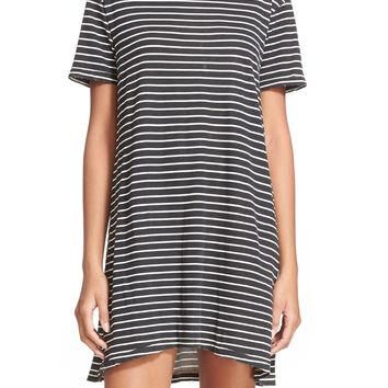 Current/Elliott 'The Knit' Stripe T-Shirt Dress | Nordstrom