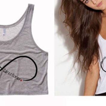 Infinite Sheerio / Directioner Cropped Tank
