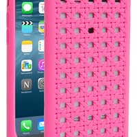 kate spade new york 'woven cane' silicone iPhone 6 case