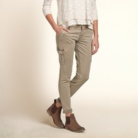 Hollister Super Skinny Military Pants