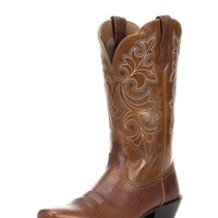 Women's Round Up Square Toe - Dusty Dun/Tan