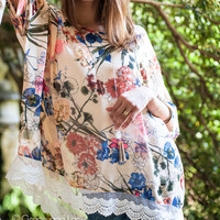 (*sale*) Angel Wing Top in Floral