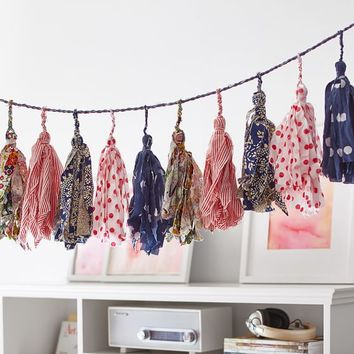 Tassels Fabric Garland