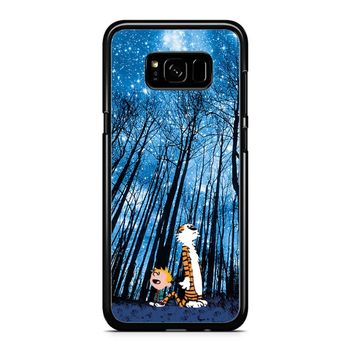 Calvin And Hobbes Galaxy Samsung Galaxy Note 5 Case