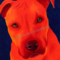 Custom Pet Portrait , Custom Pet Art Painting, Acrylic on Canvas 24 x 30