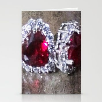 Fire and Ice Stationery Cards by Jessica Ivy