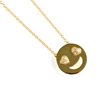 Gina Cueto | Love Emoji Gold Necklace