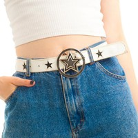 Vintage Y2K Famous Stars & Stripes Belt - L/XL