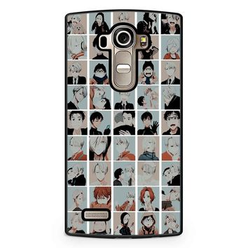 Yuri On Ice Emojis LG G4 Case