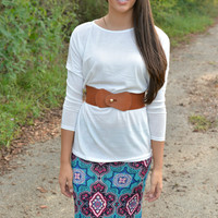 Queen of Hearts Maxi Skirt
