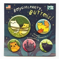 Cat Button Pack