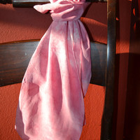 Dusty Pink Silk Scarf