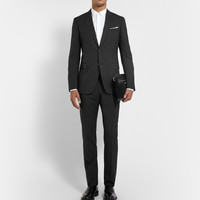 Lanvin - Black Attitude Slim-Fit Wool Suit | MR PORTER