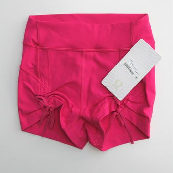 Lululemon Hot Pink Liberty Shorts 4 NWT