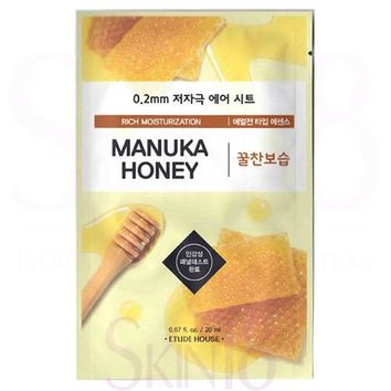 Etude House 0.2 Therapy Air Mask #Manuka Honey
