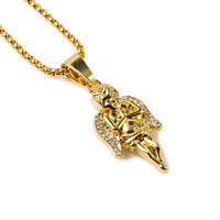 New Arrival Stylish Shiny Gift Jewelry Pendant Hip-hop Necklace [10529027779]
