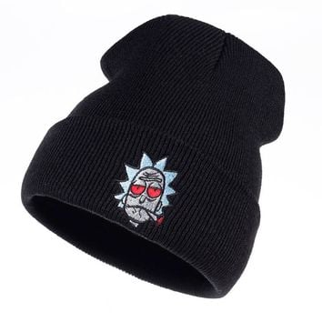 Rick and Morty Beanie