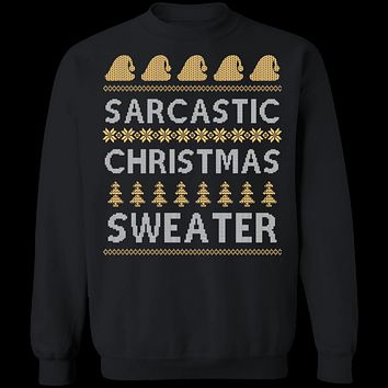 Sarcastic Ugly Christmas Sweater