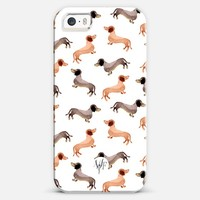 Darling Dachshunds iPhone 5s case by wonder forest | Casetify