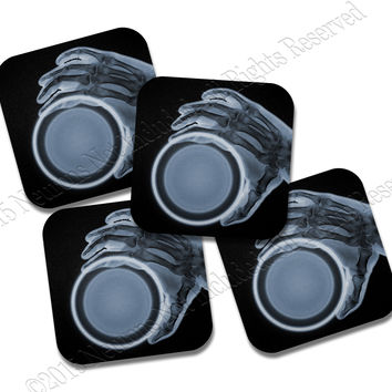 X-Ray Neoprene Coaster Set