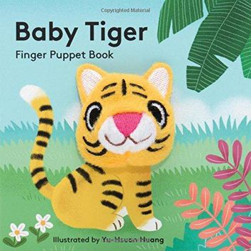 Baby Tiger: Finger Puppet Book (Little Finger Puppet Board Books) (Hardcover)