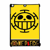 One Piece Trafalgar Law Flag Emblem iPad Air Case