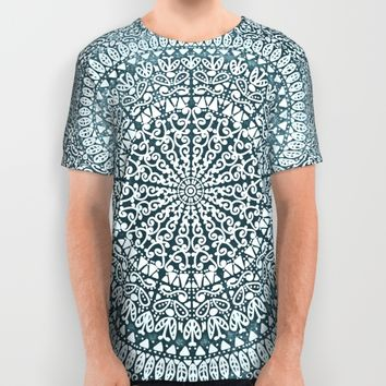 BOHO MANDALA BANDANA All Over Print Shirt by Nika | Society6
