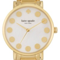 kate spade new york 'gramercy' dot dial bracelet watch, 34mm | Nordstrom