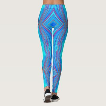 creative abstract pattern leggings