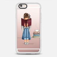 The Fine Art of Staying In (Transparent) iPhone 6s case by H. Nichols Illustration | Casetify