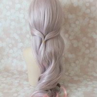 Fairy Hair, Fairy Wig, Lavender Pink Wig, Cosplay Wig, Fairy Costume wig