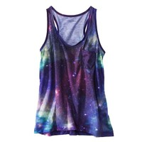 Xhilaration® Juniors Sleep Tank - Celestial Blue