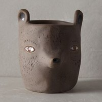 Sarah Burwash Forest Critter Garden Pot